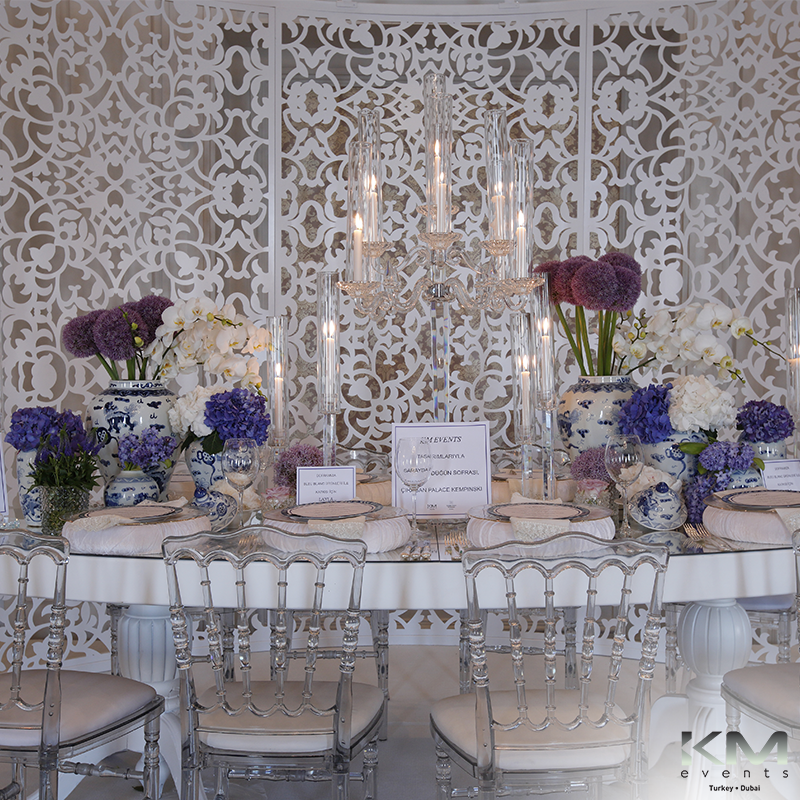 Event km events table decorations exhibition at ciragan palace kempinski junglespirit Image collections