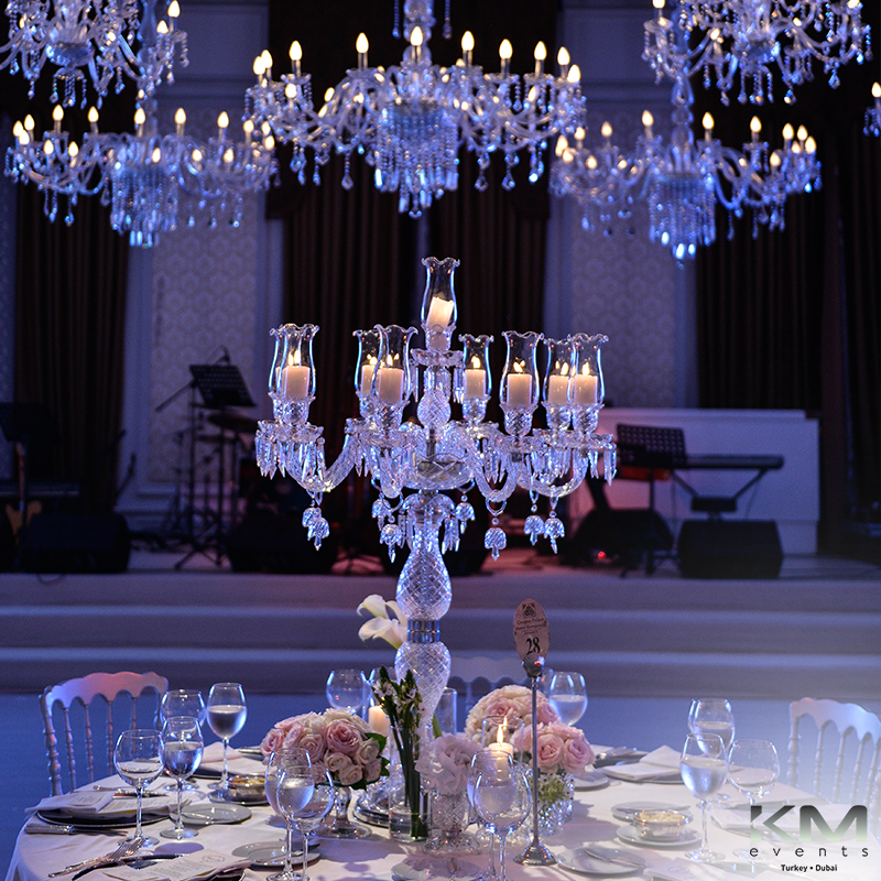 Crystal Touches at Ciragan Palace