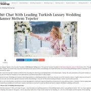 Chit Chat With Leading Turkish Luxury Wedding Planner Meltem Tepeler
