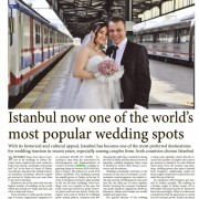 """Istanbul now one of the world's most popular wedding spots"" - Daily Sabah"